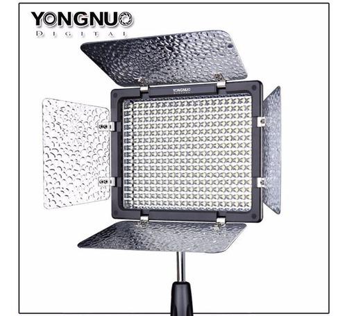 kit iluminador led yongnuo yn-300 iii + fuente 220v + envío