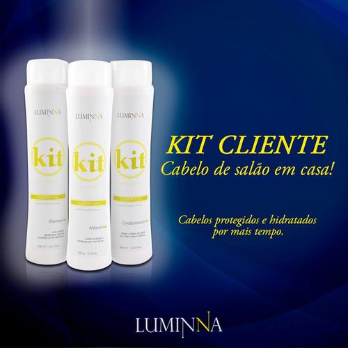 kit iluminné plus luminna - pós quimica ou progressiva