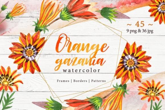 Kit Imagenes Digitales Flores Naranjas 618071 20 00 En Mercado Libre
