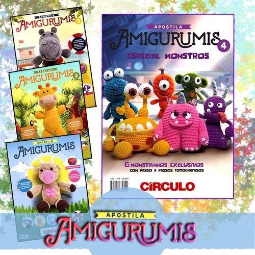 Linha Amigurumi - 15 Unidades + Agulha - R$ 218,90 em Mercado Livre | 500x500
