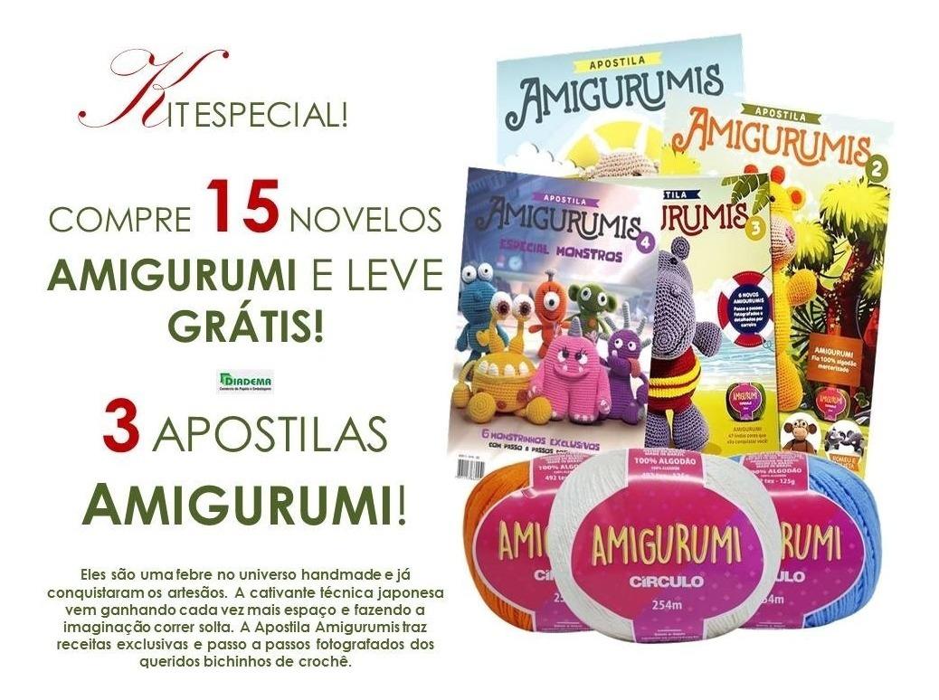 Kit Circulo Amigurumi 8 Unicornio - O Melhor Armarinho em Lãs ... | 774x1038