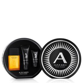 e71722140b Kit Perfume Azzaro 50ml   Espuma De Barbear 40g Original - Beleza e Cuidado  Pessoal no Mercado Livre Brasil
