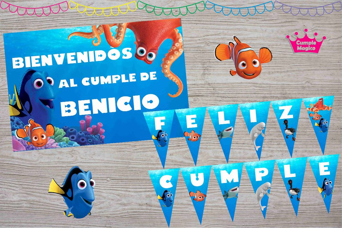 Cartel feliz cumple laura