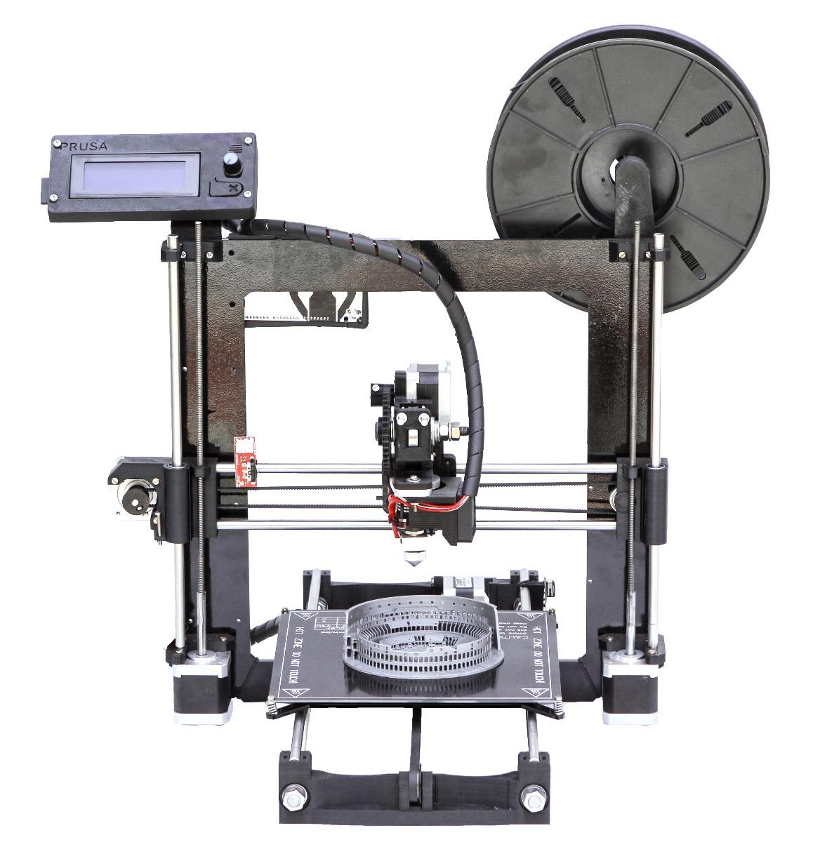Kit Impresora 3d Prusa I3 Plus - Marco Acero 6mm + Cuotas ...