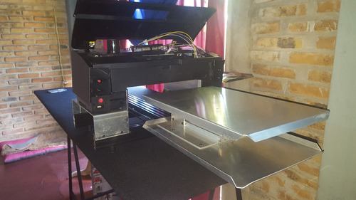 kit impresora dtg remeras estampa algodón epson l1800 p600