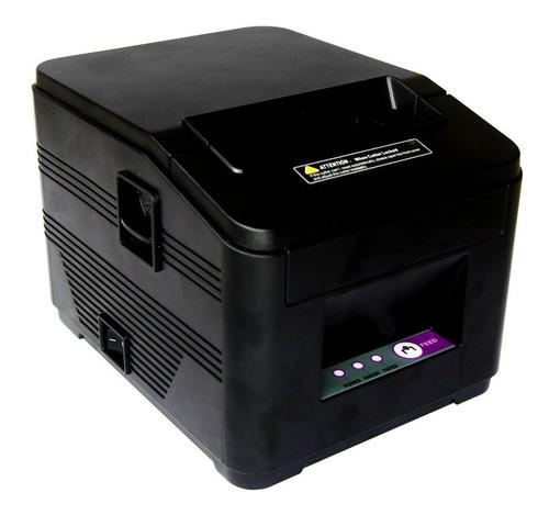 kit impressora térmica ticket de cupom 80mm + 10 bobina 80mm