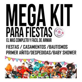 Kit Imprimible  Candy Bar Mega Calendario Pizarra + Regalos
