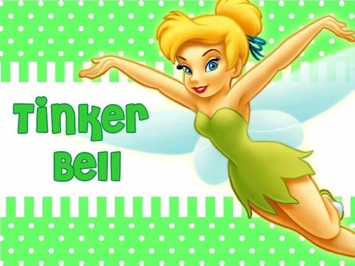 kit imprimible 1 tinker bell campanita diseña tarjetas y mas