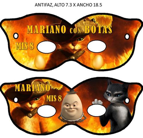 kit imprimible 100% editable el gato con botas oferta 2x1