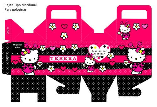 kit imprimible 100% hello kitty coquito oferta 2x1