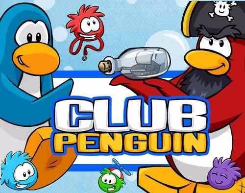 kit imprimible 2 club penguin diseñá tarjetas cumples y mas