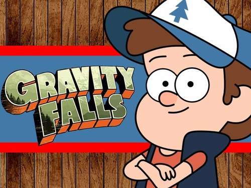 kit imprimible 2 gravity falls diseñá tarjetas cumples y mas