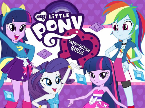 kit imprimible 2 my little pony equestria girls y mas