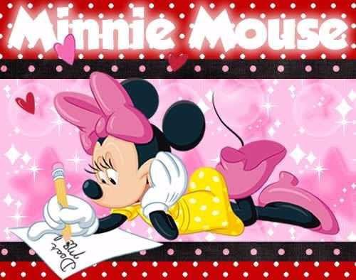 kit imprimible 2minnie mouse diseñá tarjetas , cumples y mas