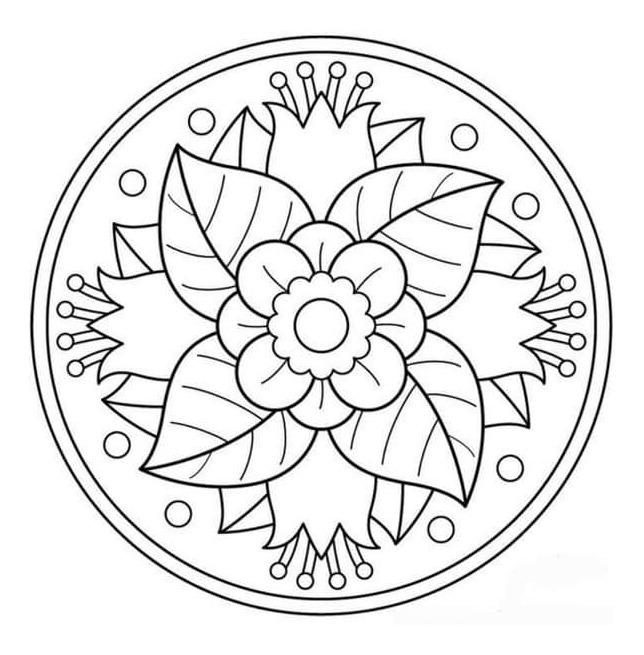 Kit Imprimible 368 Mandalas Para Colorear Pdf
