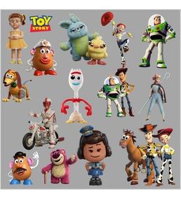 Kit Imprimible 4x1 Toy Story 4 Papel Imagen Clipart