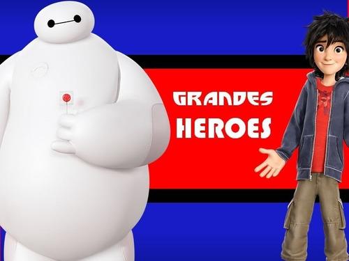 kit imprimible 6 grandes heroes diseñá tarjetas gratis!