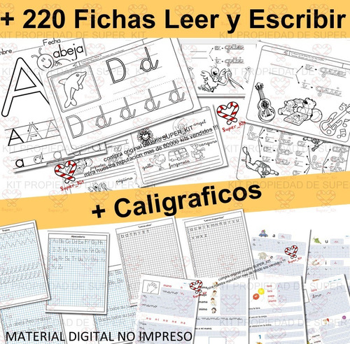 kit imprimible actividades niños en casa cuarentena + 2x1