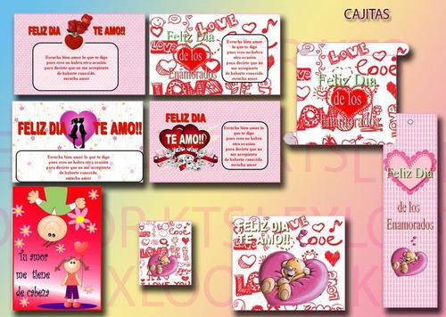 kit imprimible  amor dia de los enamorados san valentin