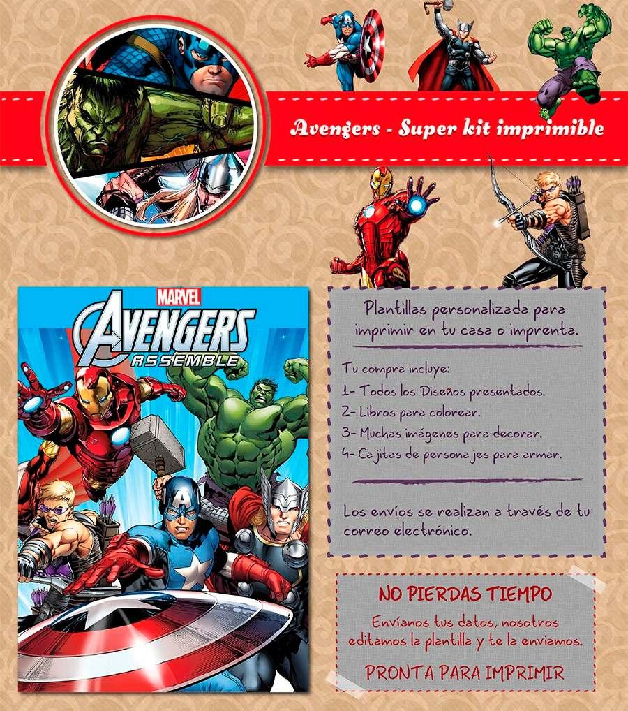 Famoso Libro De Colorear Vengadores Ilustración - Enmarcado Para ...