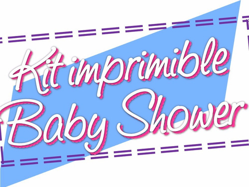 kit imprimible baby shower 10 en 1 special edition css