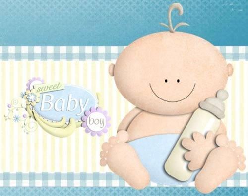 kit imprimible baby shower