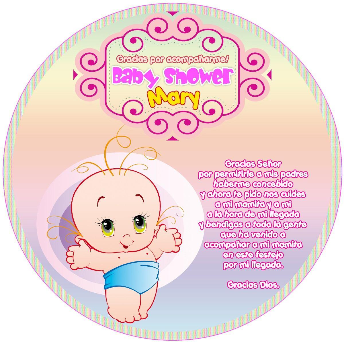 Kit Imprimible Baby Shower Bautismo Invitaciones Bautismo 3919