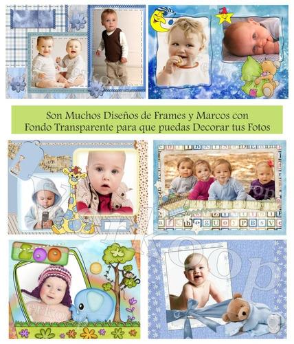 kit imprimible baby shower boy niño invitaciones party fotos
