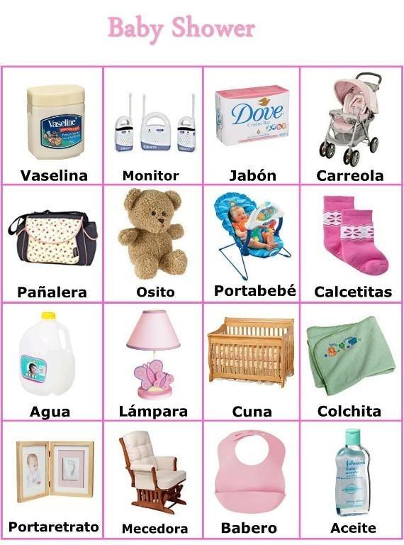 Kit Imprimible Baby Shower Loteria Cartas Juegos Azules 99 00 En