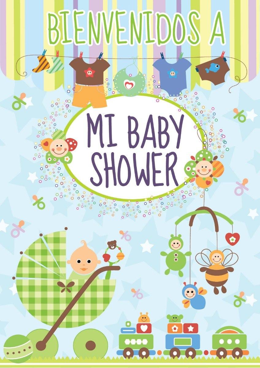 Kit Imprimible Baby Shower Unisex Personaliza Tu Fiesta 100 00