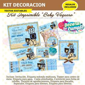 Baby Shower Vaquero En Mercado Libre Mexico