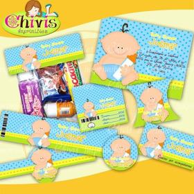 Kit Imprimible Babyblue