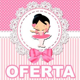 Kit Imprimible Bailarina + Candy Bar Oferta