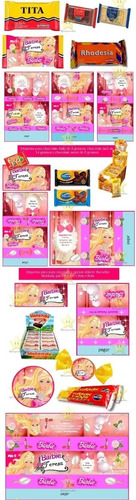 kit imprimible barbie super princesa candy bar golosinas