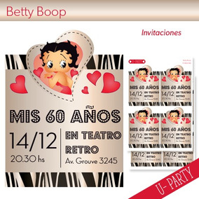 Kit Imprimible Betty Boop