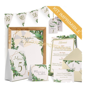 Kit Imprimible Boda Matrimonio Recordatorio Personalizado