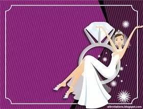 kit imprimible boda y despedida de solteras solteros