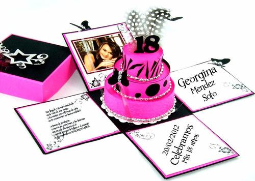 kit imprimible cajitas explosivas invitaciones souvenir