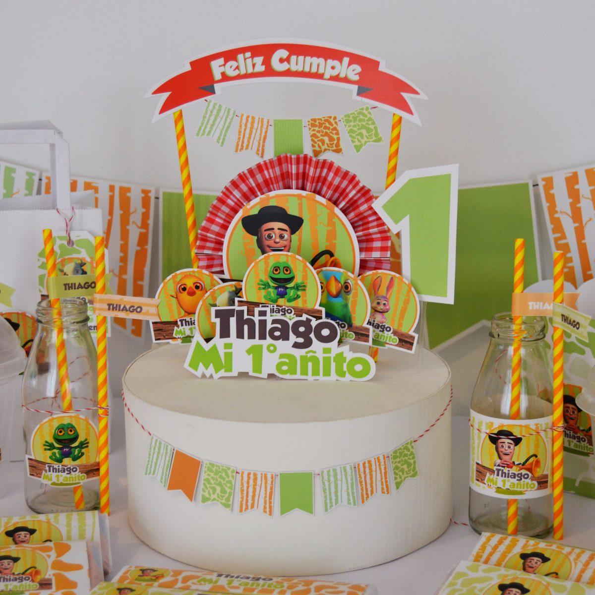 Kit Imprimible Canciones De La Granja De Zenon 330 00 En Mercado