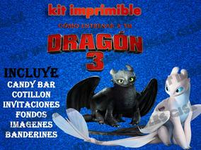 Dragon Imprimible Candy Como Entrenar Kit Tu Bar A 3 rxdeBCoW