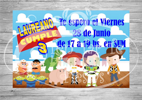 kit imprimible - candy bar golosinas toy story