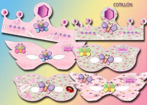 kit imprimible candy bar maripositas mariposas primer añito