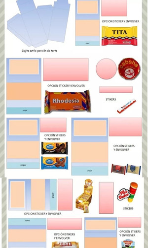 kit imprimible candy bar mega 2019 regalos calendario 2019