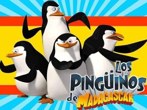 kit imprimible candy bar pinguinos de madagascar golosinas