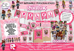 Kit Imprimible Candy Bar Roblox Niña Rosa Personalizado - give me candy sweater roblox