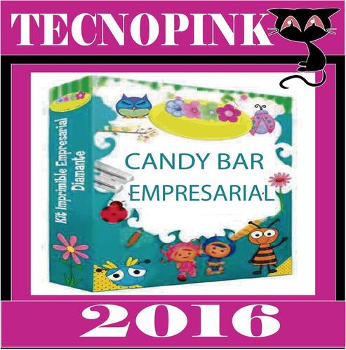 kit imprimible candybar,etiquetas golosinas,todo para fiesta