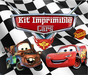 Kit Imprimible Cars Candy Bar Golosinas Editable Tarjetas