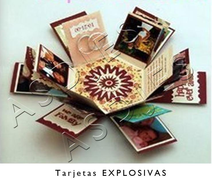 Kit imprimible completo invitaciones cajas explosivas - Caja decorada con fotos ...