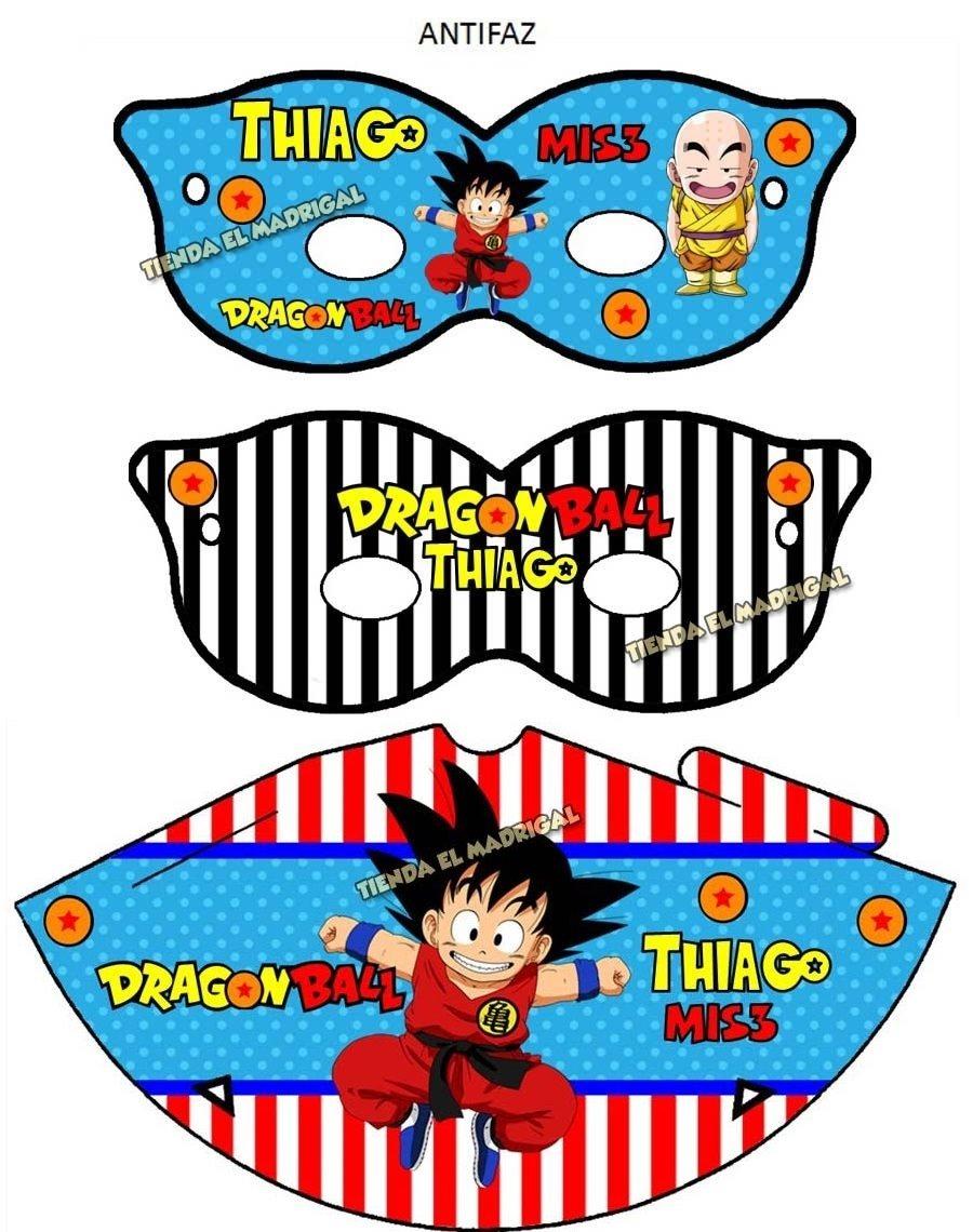 Kit Imprimible Invitaciones Dragon Ball Z Cotillon 49 00 En
