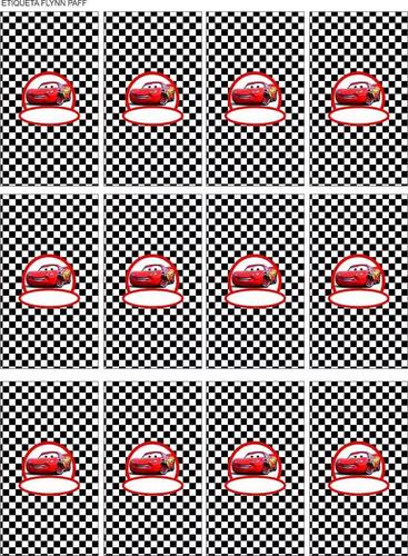 kit imprimible cumple+candy bar cars solo textos editables!
